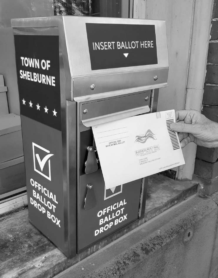 Official Shelburne ballot box